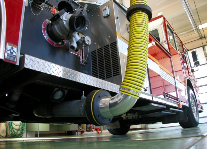 Emergency Vehicle Exhaust Extraction image