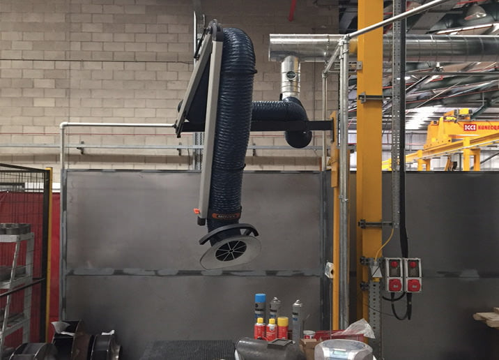 Standard Fume Extraction Arms