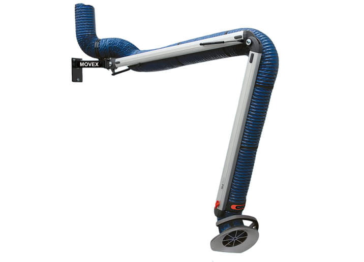 standard welding extraction arms