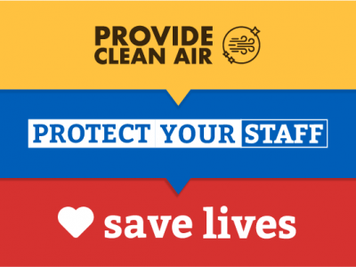 Provide Clean Air, Protect Your Staff, Save Lives