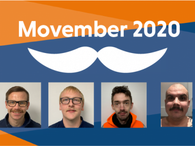 A Fan-'Tache'-ic Fundraising Effort for Movember