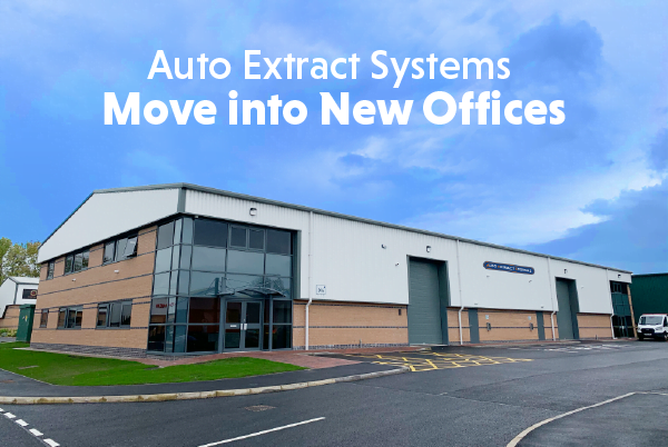 Auto Extract Systems Move into New Offices
